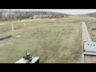 Испытание Российских боевых роботов