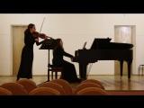 Ф. Шуберт, Дуэт для скрипки и ф-но, ор.162 A-dur. Исп. студенты МУ им. Римского-Корсакова