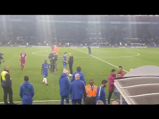 Guardiola speaking with Christensen after the game / vk.com/chelsea