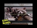 Стражи галактики 2 лучшие фильмы 2017 года Guardians of the Galaxy Vol 2 kino remix животные енот ржачные видео приколы 2017