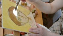 Как рисует солнышко .)