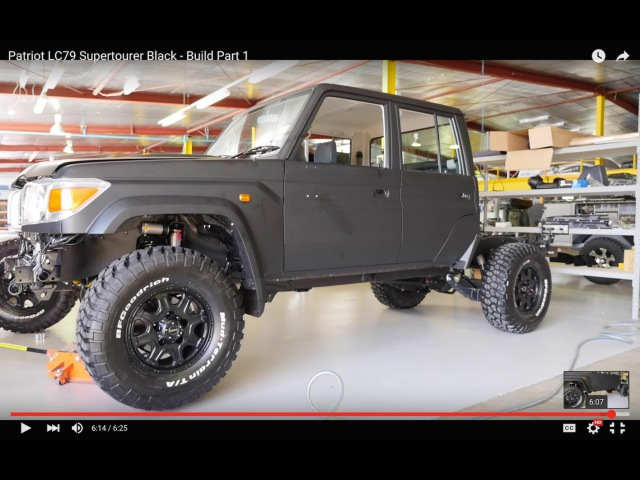 Patriot Campers LC79 Supertourer Black - Build Part 1