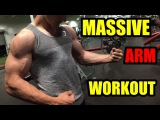 Building Big Arms WCornelius Masterson