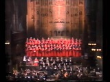 Пласидо Доминго и Сара Брайтман  1985 год  Нью Йорк  Реквием  Андрю Ллойд В ...