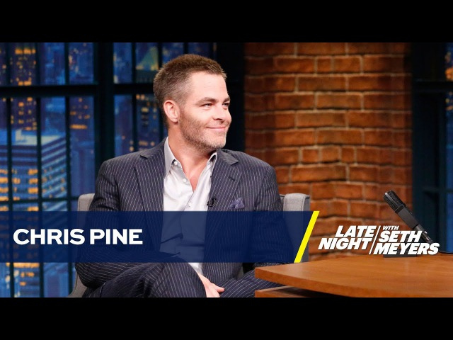 Chris Pine Met a Cuddly, Photo-Taking Lorne Michaels