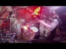 Czarcie Kopyto drum cam Inferno AZARATH@Baptized in Sperm of the Antichrist Warszawa 29 09 2017