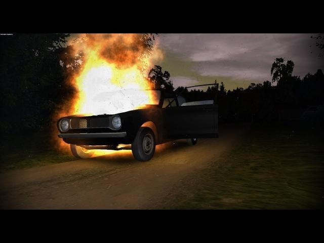 Погоня от полиции в my summer car неудачник