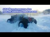 HSP Brontosaurus после замены двигателя и проверка коккинга