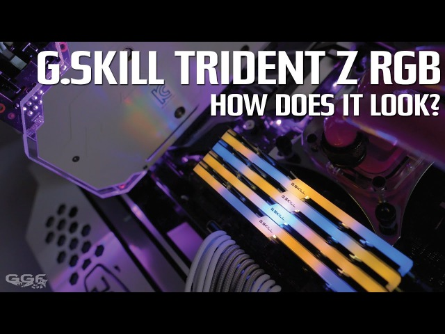 G.Skill Trident Z RGB - How does it look?