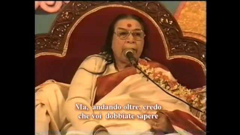 L'aspetto sottile degli elementi - Discorso per Meditare - Shri Mataji Nirmala Devi