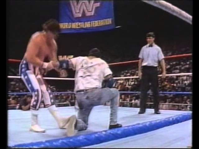 Mark Young vs Brooklyn Brawler 1989 (Shane McMahon as referee)