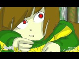 Undertale- animation (Chara and Asriel)