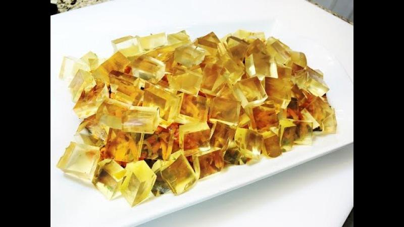 Праздничный Салат ЛЕДОХОД . Salad with Chicken Liver