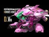 Overwatch - D.Va All Voice Lines