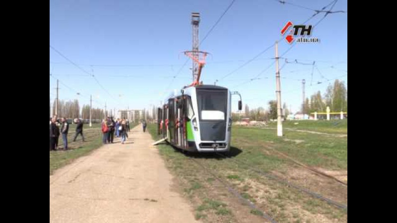 В Харькове показали трамвай собранный Салтовским депо. Чем хорош и во сколько обошелся - 28.04.2017