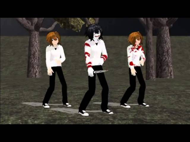 [MMD] What Does The Fox Say (Jeff The Killer)
