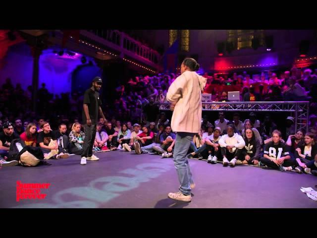 Paradox vs Franky Dee 1ST ROUND BATTLES Hiphop Forever - Summer Dance Forever 2015