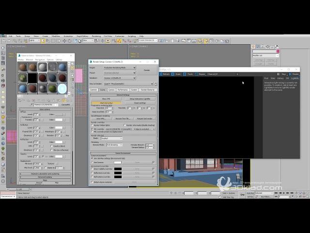 Настройка света в экстерьерных сценах CORONA RENDERER 3DMax