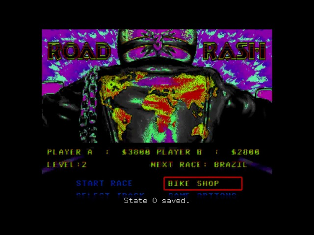 Road Rash 3 Season 2, 1/4 finals. Memori vs Palka Palych