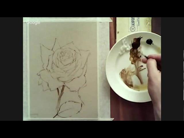 Никонов Денис. Белая роза