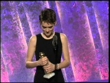Golden Globes 1994 Winona Ryder Best Supporting Actress in a Motion Picture