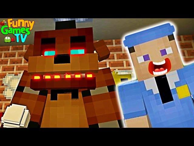 ФНАФ Пять Ночей С Фредди В Майнкрафт. FNAF Five Nights at Freddy's Minecraft
