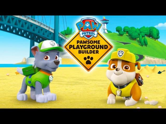 PAW Patrol: Puppy Playground Builder. Gameplay