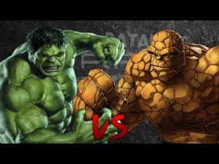 Hulk vs La Cosa. Épicas Batallas de Rap del Frikismo | Keyblade ft. ZetaEme