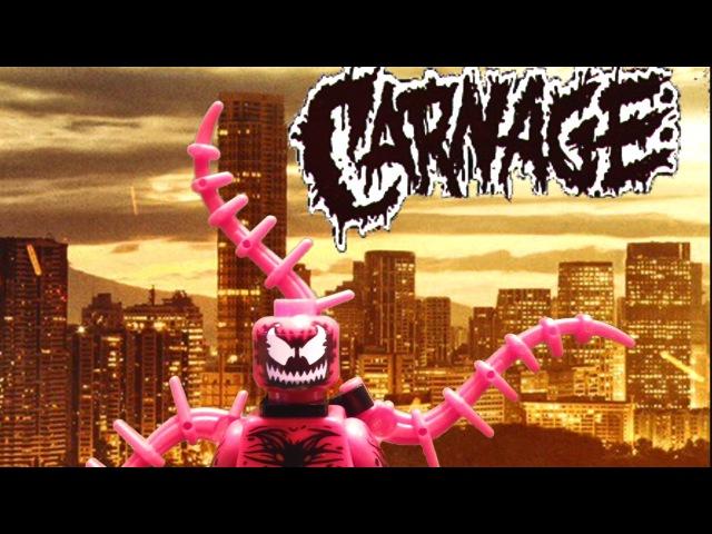LEGO Carnage ep.1 Stop motion BrickFilm[Лего Карнаж эпизод 1 мультсериал]