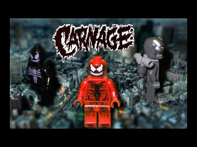 LEGO Carnage ep.2 Stop motion BrickFilm[Лего Карнаж эпизод 2 мультсериал]