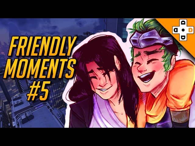 Overwatch Friendly Moments Lifesavers 5   BROVERWATCH - Highlights Montage