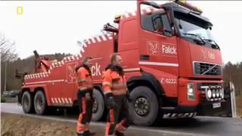 Ледяная дорога Застрявший транспорт Stuck Trucks