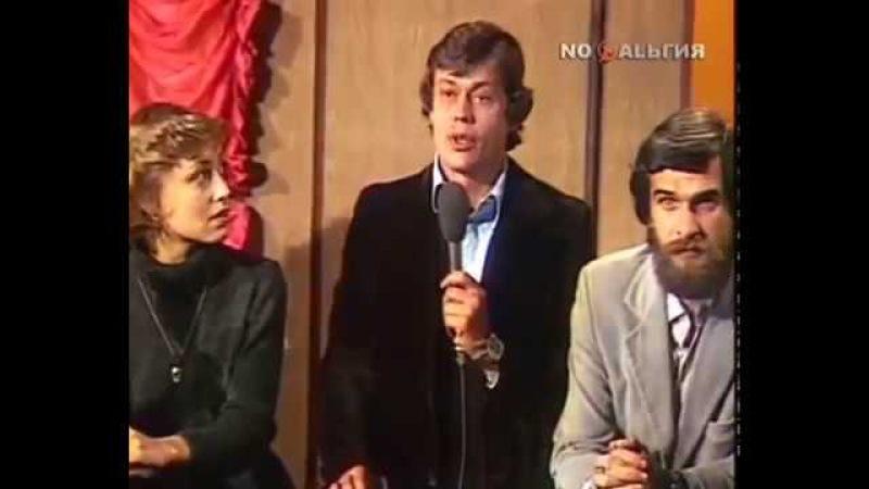 Легендарный романс из рок оперы Юнона и Авось Уникальная редкая запись 1981