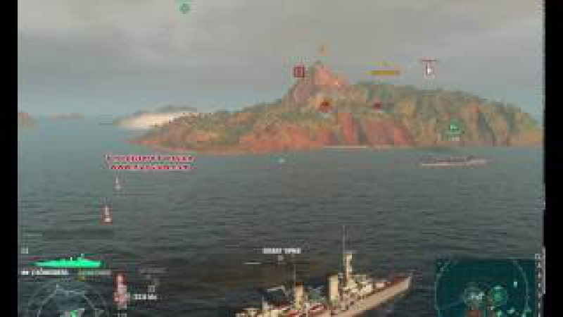 World of Warships Konigsberg удача на нашей стороне