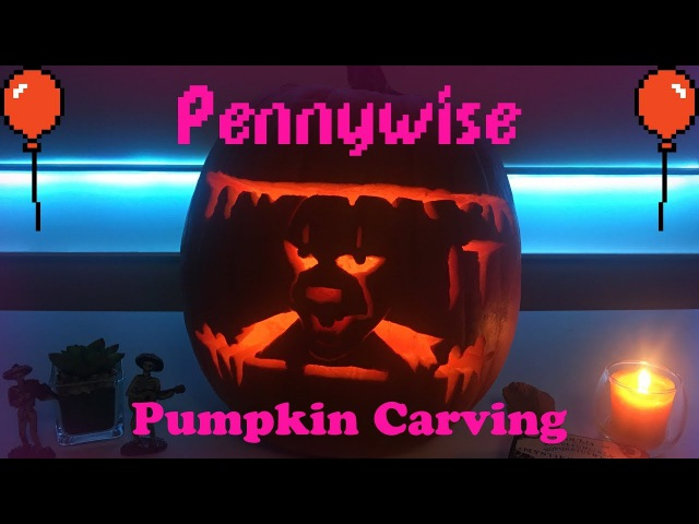 Pennywise Pumpkin Carving Tutorial