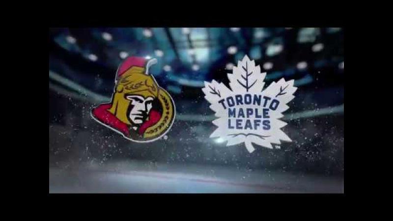 Ottawa Senators vs Toronto Maple Leafs. Pre Season. Recaps. Highlights. Sept. 19, 2017