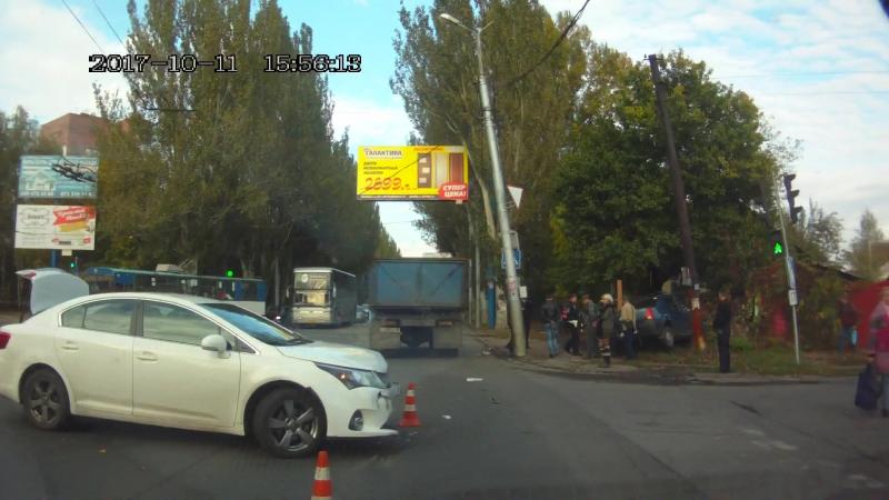 Авария в Макеевке