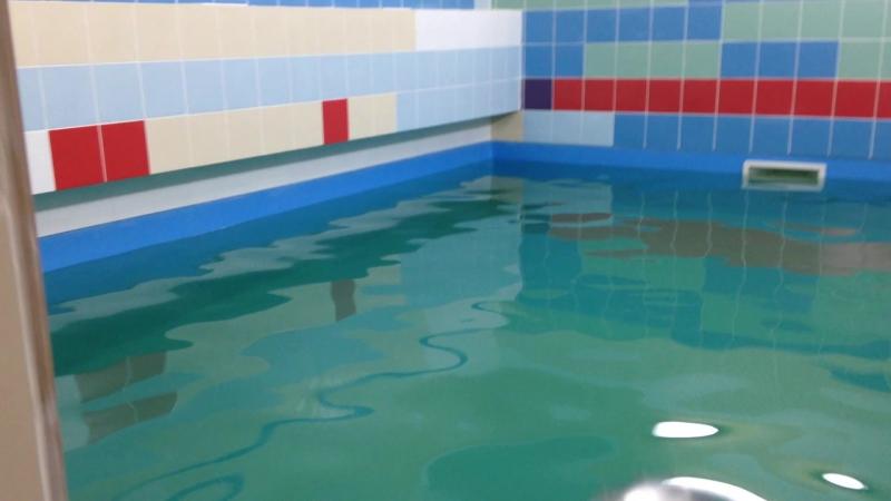 Бассейн 5*3*1.3 м облицованный пленкой ПВХ