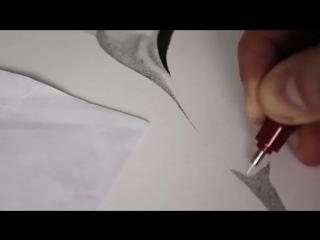 Один миллион точек  Скоростное рисование