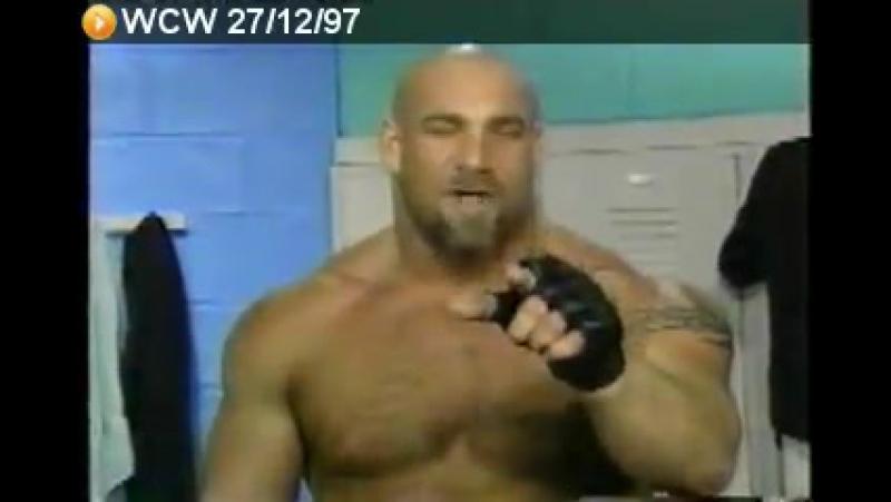 WCW: Saturday Night / Bill Goldberg vs. Renegade / 27.12.1997 [13-0]