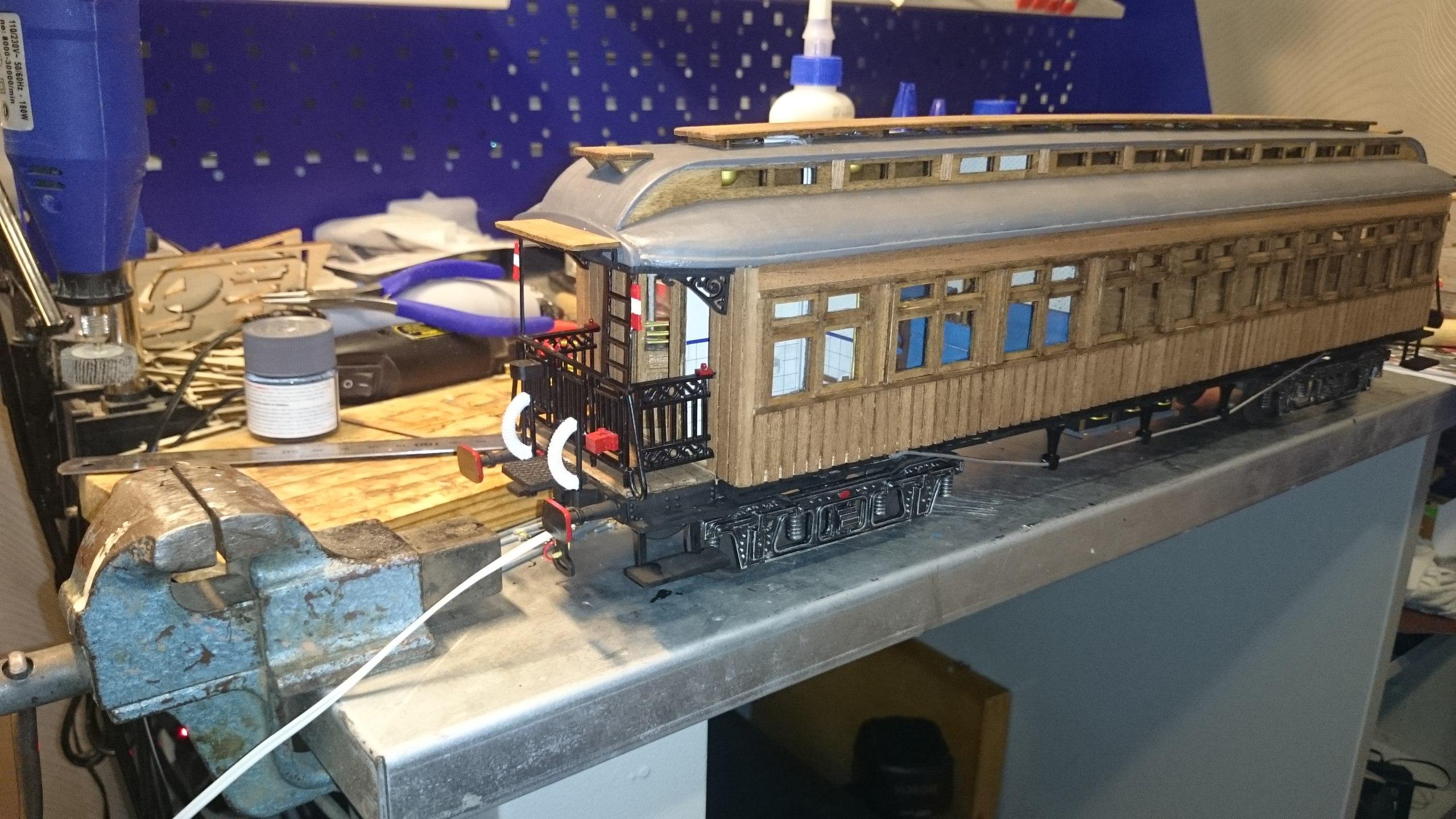 Модель вагона Costa Coach Масштаб 1:32 OcCre (качество фото не очень) XqHQzlnhgQk