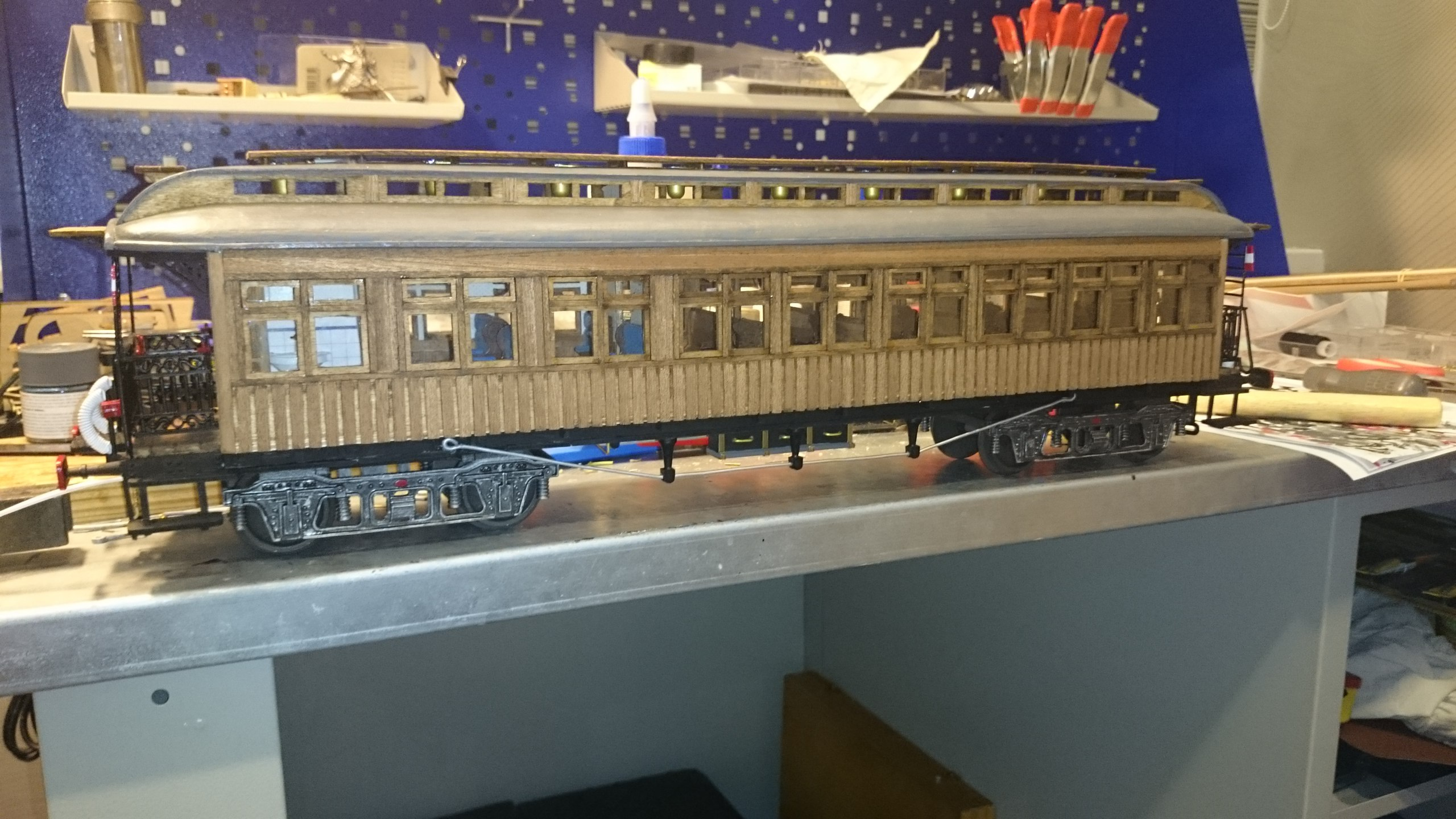 Модель вагона Costa Coach Масштаб 1:32 OcCre (качество фото не очень) Tx9KycqhsvE