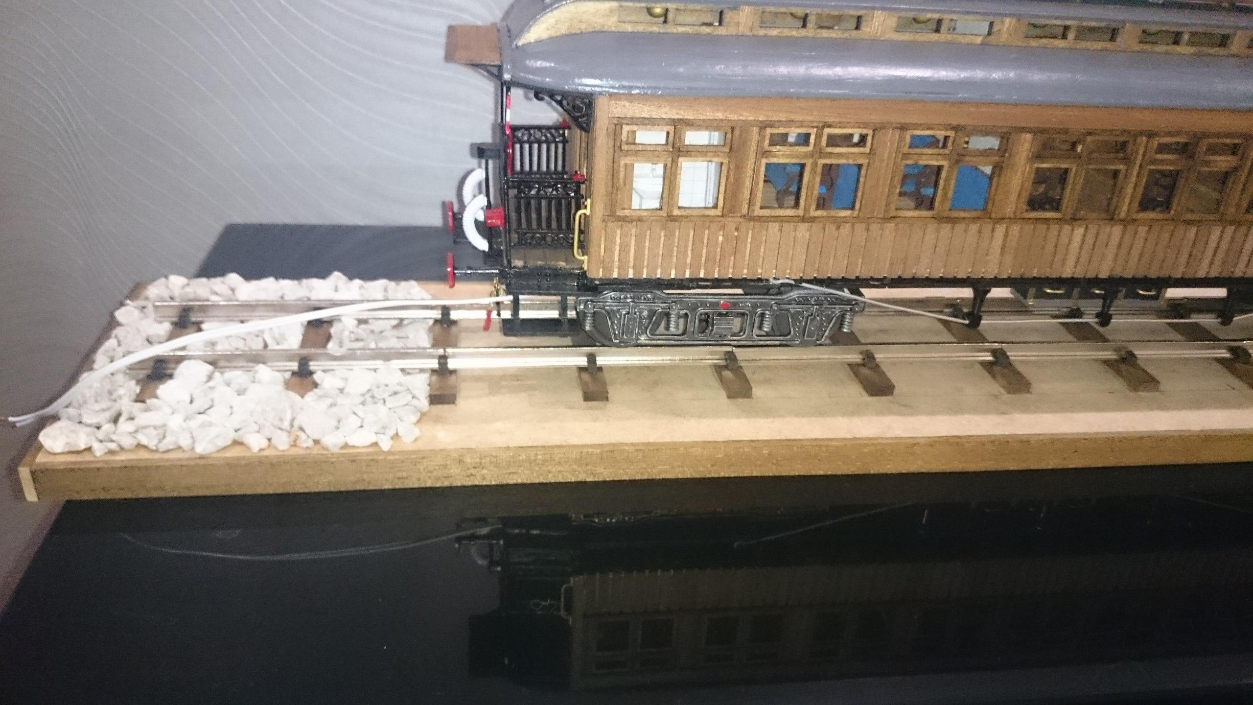 Модель вагона Costa Coach Масштаб 1:32 OcCre (качество фото не очень) COcNY3_2dBg