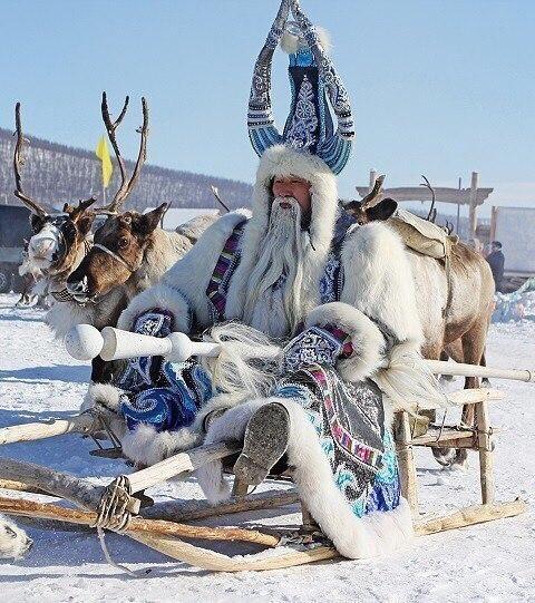 Как вам Якутский Дед Мороз?