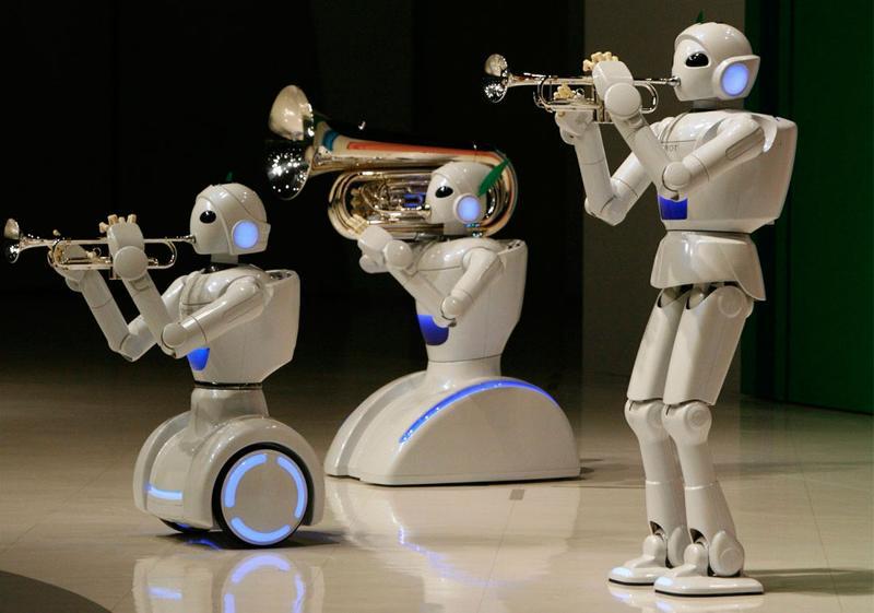 Тотальная роботизация. Вас всех сократят к хуям? ))
