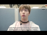 [RUS SUB][BANGTAN BOMB] Jins chatter time @ M countdown comeback stage of Spring Day