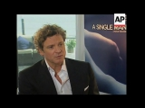 Italy - 'A Single Man' Junket - Colin Firth