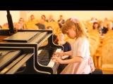 Моя Катюша играет 16.04.2017г  на фортепианном конкурсе