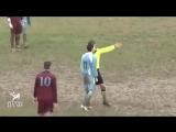 Fotbaliști vs arbitri