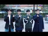 [VIDEO] NUEST W по пути на Music Bank (20.10.17)